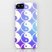 Trippy Balance Yin Yang iPhone & iPod Case by Courtney Burns