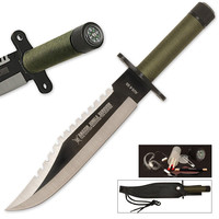Jungle Survival Knife with Sheath