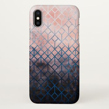 Geometric XI iPhone X Case