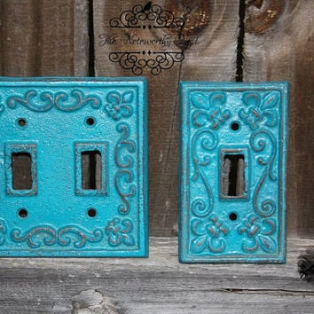 Best cast iron switch plates products on wanelo - Wrought iron switch plate covers ...