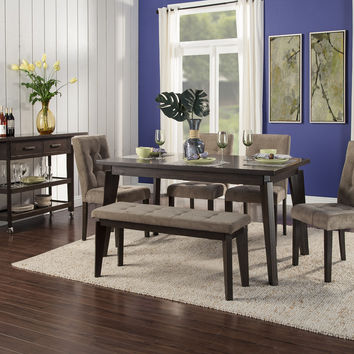 Alpine Uptown Rectangular Dining Table