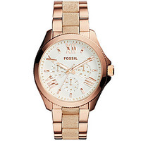 Fossil Ladies' Cecile Multifunction Rose Gold-Tone Stainless Steel Wat