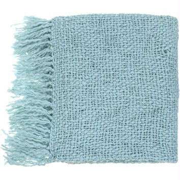 Throw Blanket - Spa Blue
