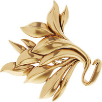 Oscar de la Renta Rose gold-plated brooch – 33% at THE OUTNET.COM