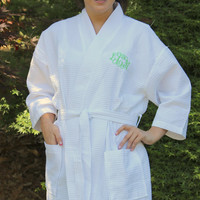 Monogrammed Spa Bath Robe