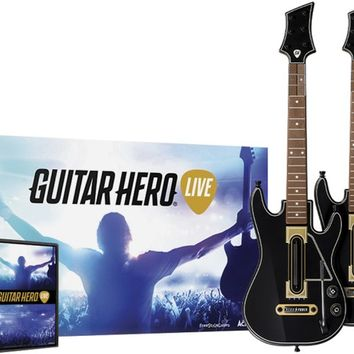 Guitar Hero Live - Guitar 2-Pack Bundle - PlayStation 4