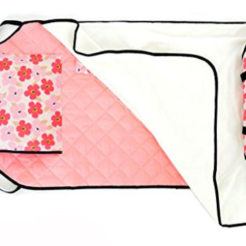 Urban Infant Toddler Nap Mat - Poppies
