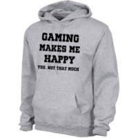 """Happy Gaming"" Pullover Hoodie 8 oz"