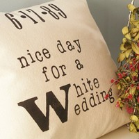 Nice Day for a White Wedding Customizable Hand by JoshuaByOak