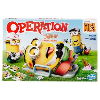 Operation Despicable Me Board Game