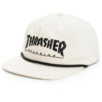 Thrasher Rope Canvas Snapback Hat