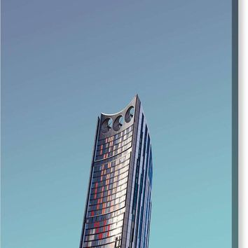 Urban Architecture - Elephant And Castle, London, United Kingdom - Canvas Print