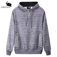 Spring Summer Clothing Men Sweatshirts With Hood Fashion Men Fleece Sweatshirts Printing Hood Men Clothes