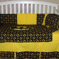 Batman Themed 6 Piece Crib set