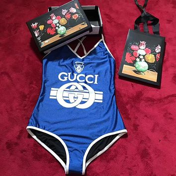 Gucci Summer Sexy Bodysuit / Swimsuit