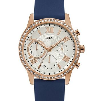 Rose Gold-Tone Multifunction Watch at Guess