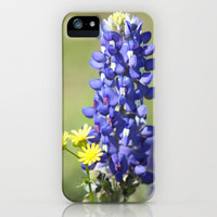 Texas Bluebonnet iPhone Case by David Cutts | Society6