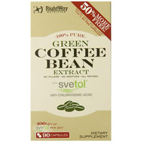 Rightway Nutrition Green Coffee Bean Extract - 90 Capsules