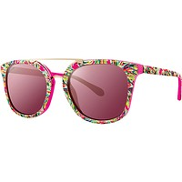 Emilia Raz Berry Shady Lady With Pink Lenses by Lilly Pulitzer
