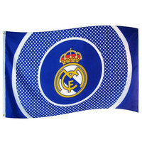Real Madrid - Crest Flag