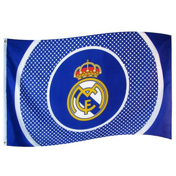 Real Madrid Crest Flag