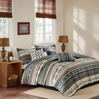 Madison Park Davy Printed 6-pc. Coverlet Set - JCPenney