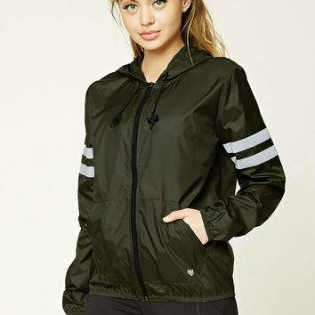 Active Striped Windbreaker