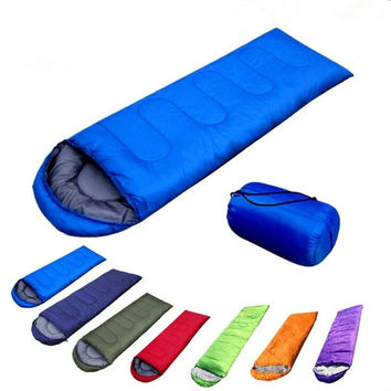 Ultra Light Cotton Sleeping Bag Outdoor Camping Sport Sleeping Bags Blue/Red/Army Green/Orange/Purple/Green/Navy Blue = 1929659588
