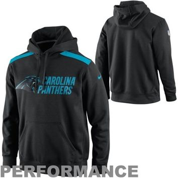 Nike Carolina Panthers 2013 Player Sideline Nailhead Performance Hoodie - Black