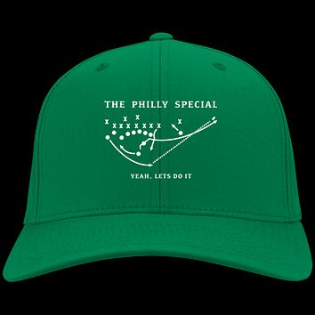 Philly Special Yeah Let's Do It Embroidered Twill Cap