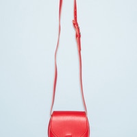 Red Faux Leather Purse - Bags & Backpacks - Accessories
