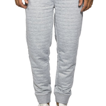 Guys Quilted Fleece Jogger