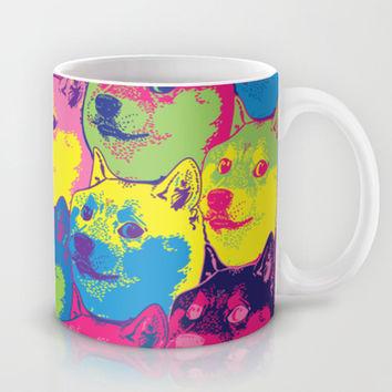 Pop Art Doge Mug by LookHUMAN