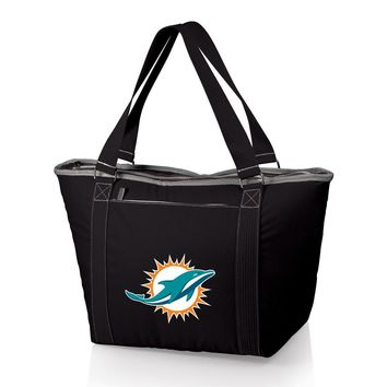 Miami Dolphins Insulated Black Cooler Tote