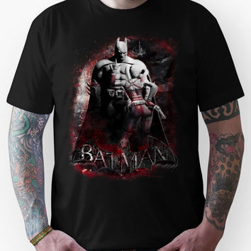 Batman & Harley Quinn Arkham City Unisex T-Shirt