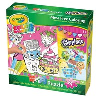 Crayola Color Wonder Color Your Own Shopkins Puzzle