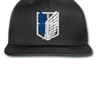 ATTACK ON TITAN embroidery hat - Snapback Hat