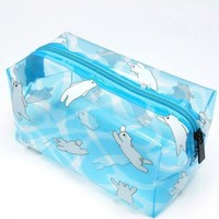 Sea Transparent Pvc Cosmetic Bag