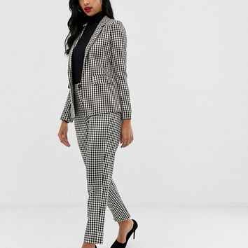 Fashion Union houndstooth blazer two-piece | ASOS