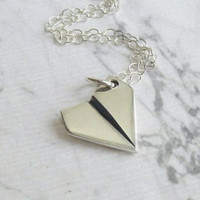 Paper Airplane Bracelet - One Direction Jewelry - Silver Paper Airplane Charm - Harry Styles Jewelry, Teen Girl Gift, Gifts for Her