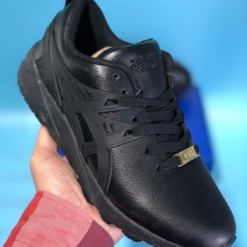 KUYOU Asics Gelkayno Leather Ratro Sport Sneaker Black