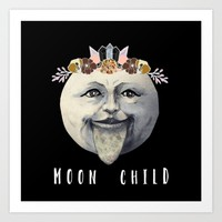 Moonchild Art Print by Lexi Colt