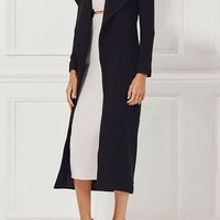 Long Sleeve Over The Knee Coat