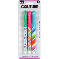 Bulk Inc. Couture Highlighters, 3-ct. Packs at DollarTree.com