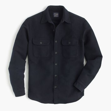 Heavyweight chamois shirt