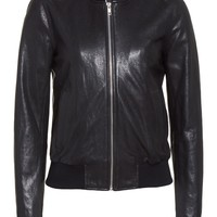 A.L.C. Edison Leather Jacket with Removable Hooded Inset   Nordstrom