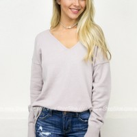 Oversize Pullover Sweater | Pastels
