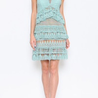 Guadalupe Laced Dress (more colors)