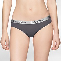 logo cotton stretch thong | Underwear | Calvin Klein