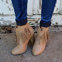 Hello Booties - Taupe